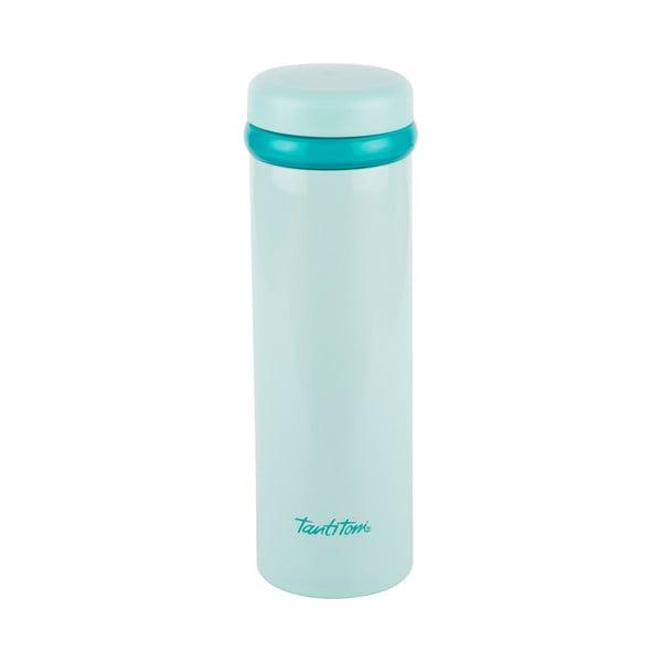 Bladozielona nierdzewna butelka termiczna Tantitoni Cool, 350 ml