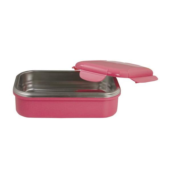 Różowy pojemnik termiczny na obiad Pioneer lunchbox