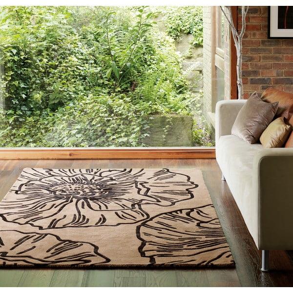 Wełniany dywan Matrix Liberty Mocha 120x170 cm