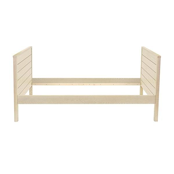 Jasne łóżko Woodman Woody, 90x200 cm