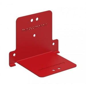 Półka Invisible Two, czerwona