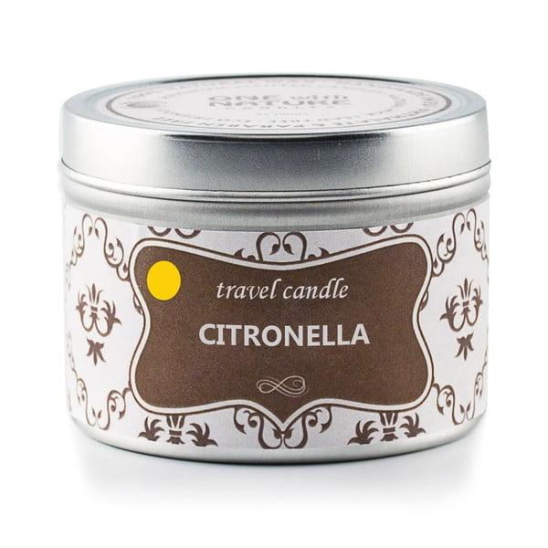 Świeczka zapachowa w puszce Citronella