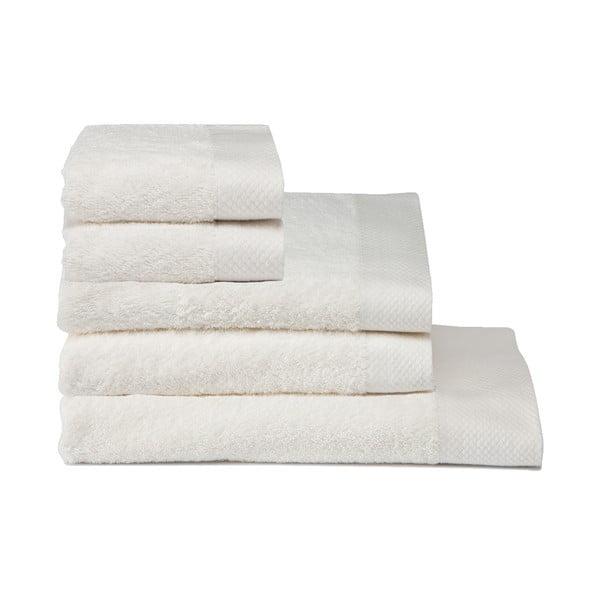 Zestaw 5 ręczników Pure Cream