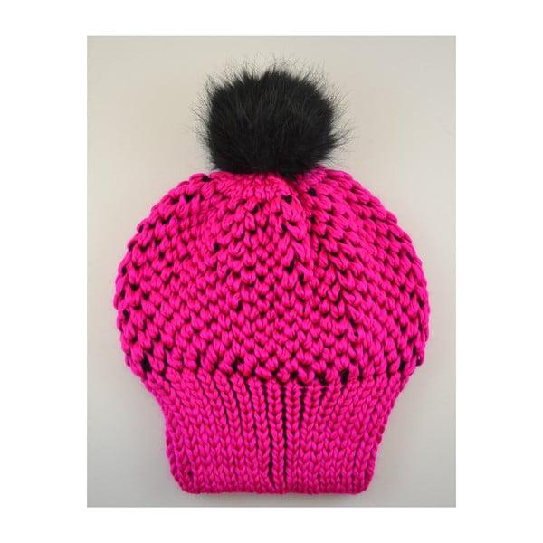Czapka damska Beret Pink