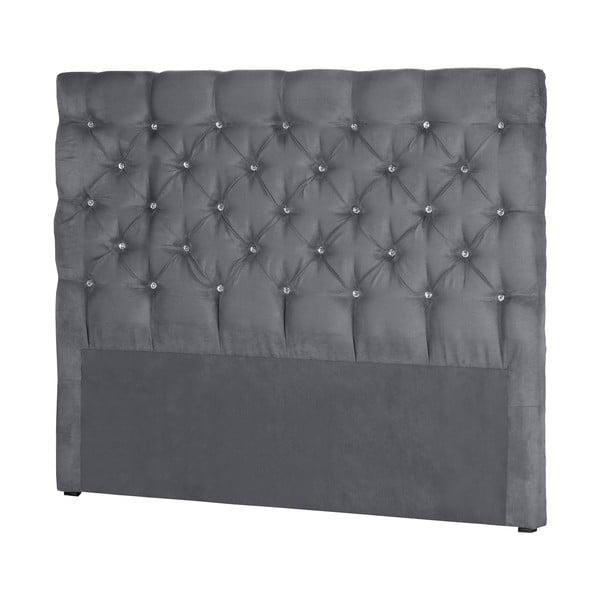 Szary zagłówek łóżka Stella Cadente Pegaz, 180x118 cm