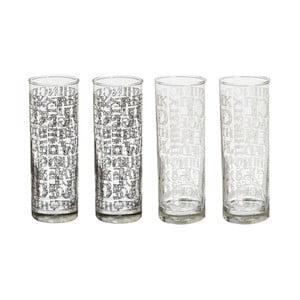 Zestaw   4 szklanek Soho Decor, 290 ml