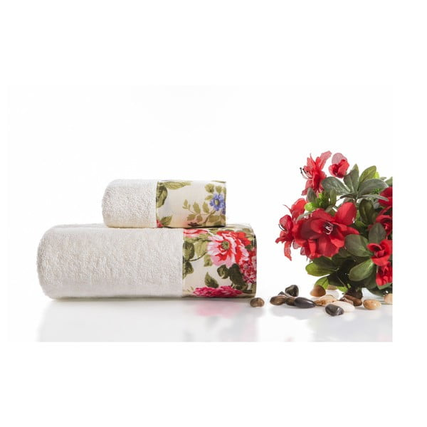Zestaw 2 ręczników Anna V3, 30x50 cm + 50x90 cm