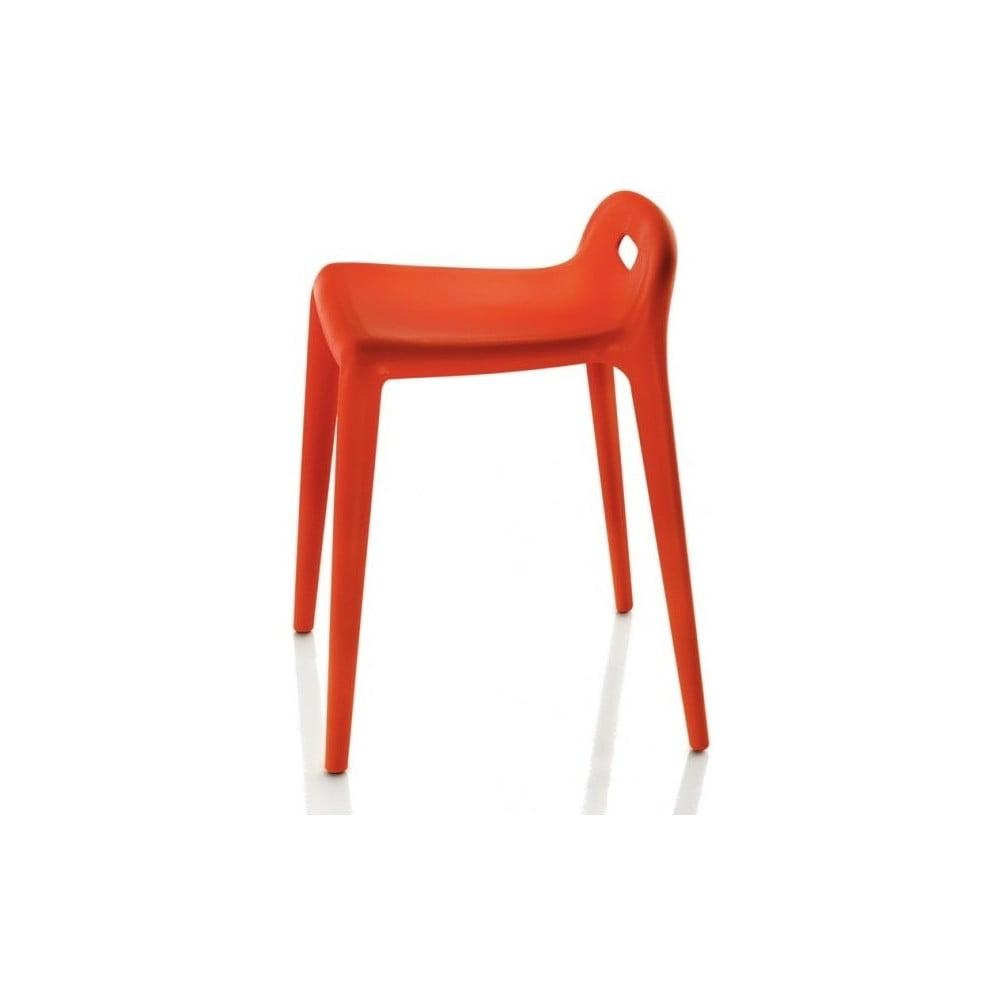 Pomarańczowe krzesło Magis Yuyu
