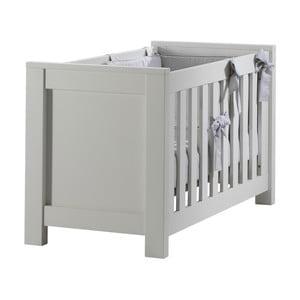 Białe łóżeczko dziecięce Núvol Marta, 60x120cm