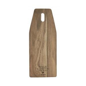 Deska do krojenia z drewna akacjowego Miss Étoile, 20x50 cm