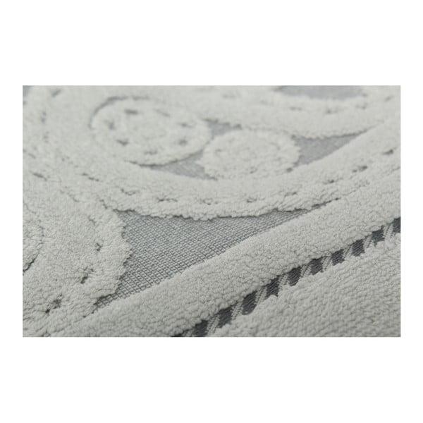 Zestaw 2 szarych ręczników Hurrem, 50x90 cm