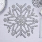 Zestaw 4 mat stołowych Neviti Snowflake