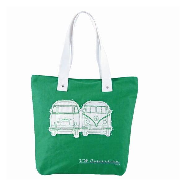 Torba Shopper Bus, zielona