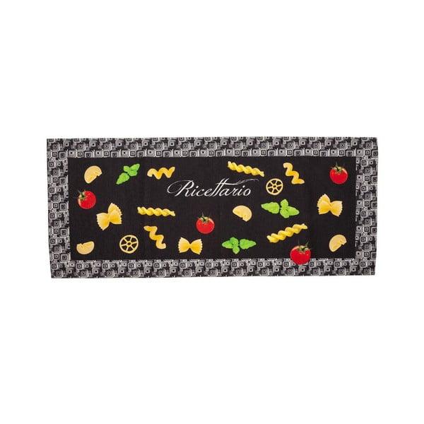 Wytrzymały dywan kuchenny Webtapetti Pastabook, 60x110 cm