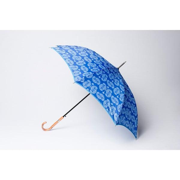 Parasol Cashmere, niebieski