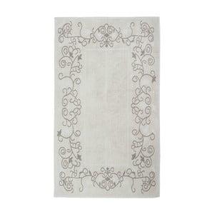Kremowy dywan bawełniany Floorist Floral, 120x180cm