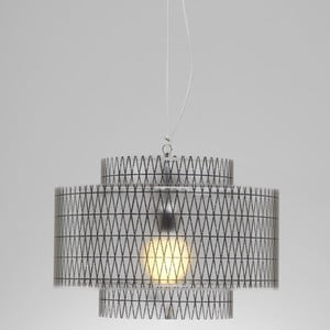 Lampa wisząca Trocadero Emporium, czarna