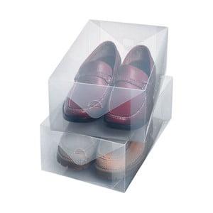 Zestaw 2 pudełek na buty Ordinett Large