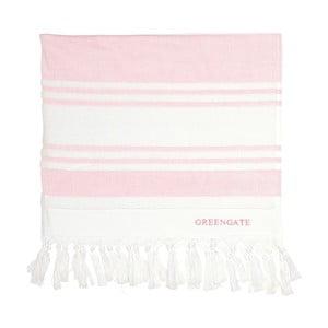 Różowy ręcznik kąpielowy Green Gate Hammam