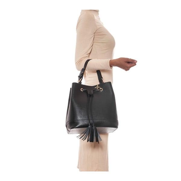 Skórzana torebka Renata Corsi 430 Nero