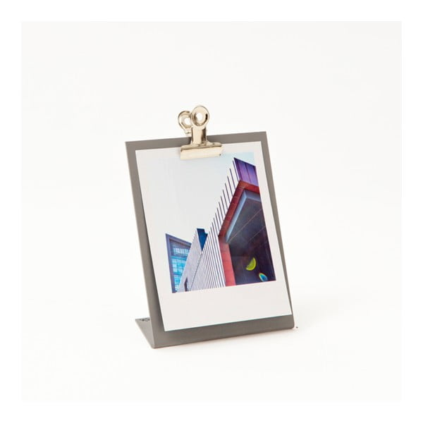 Szara ramka na zdjęcia Clipboard Small