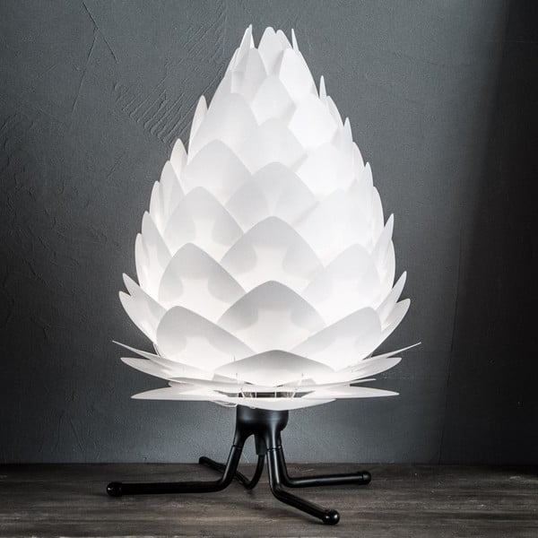Czarny regulowany trójnożny stojak na lampę VITA Copenhagen, wys.18,5cm