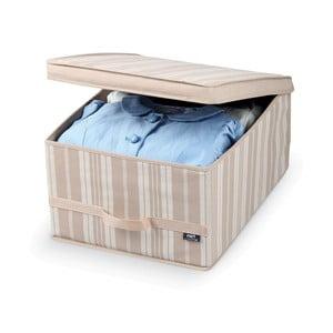 Duży pojemnik na ubrania Domopak Stripes, dł. 50 cm
