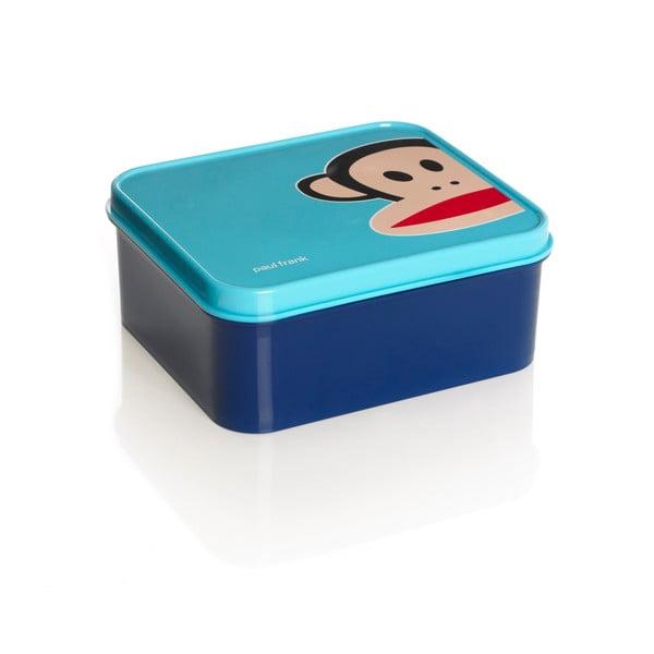 Niebieskie pudełko śniadaniowe Paul Frank