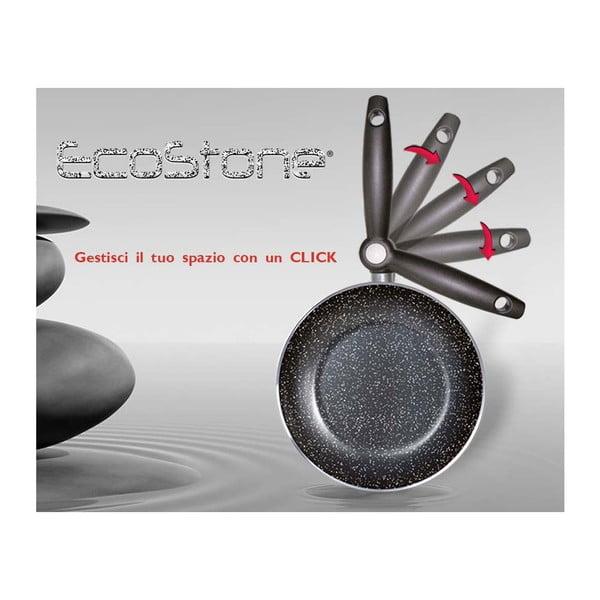 Patelnia Silex Italia Eco Stone Jumbo Professional z dwoma uchwytami, 32 cm
