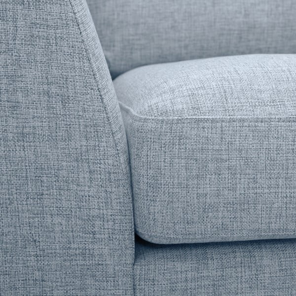 Jasnoszara sofa 2-osobowa Vivonita Monroe
