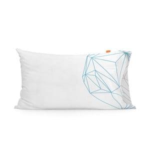Poszewka na poduszkę Blanc Heart, 50x80 cm