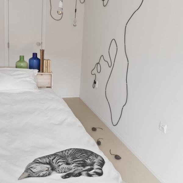 Bawełniana pościel jednoosobowa Ollie 140x200 cm
