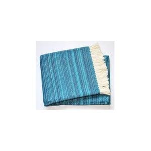 Koc Toscana Plaid Turquoise, 140x180 cm