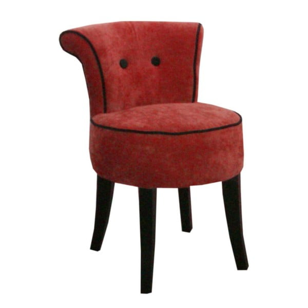Fotel George Red/Black