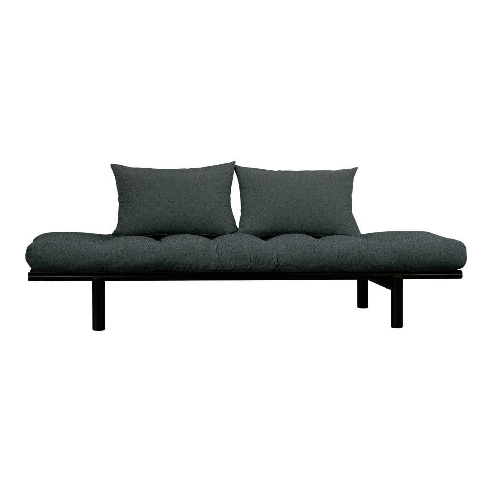 Sofa z ciemnoszarym pokryciem Karup Design Pace Black/Slate Grey