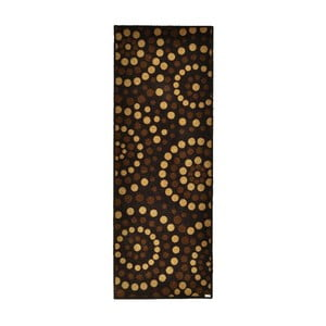 Chodnik Zala Living Dots Brown, 67x180 cm
