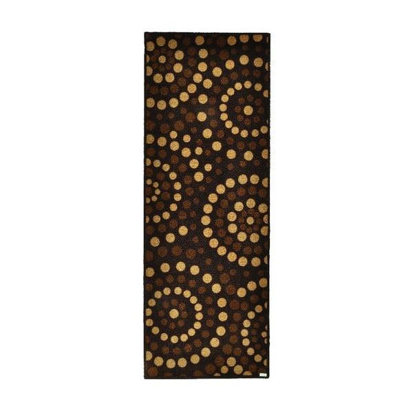 Chodnik Zala Living Dots Brown, 67x180cm