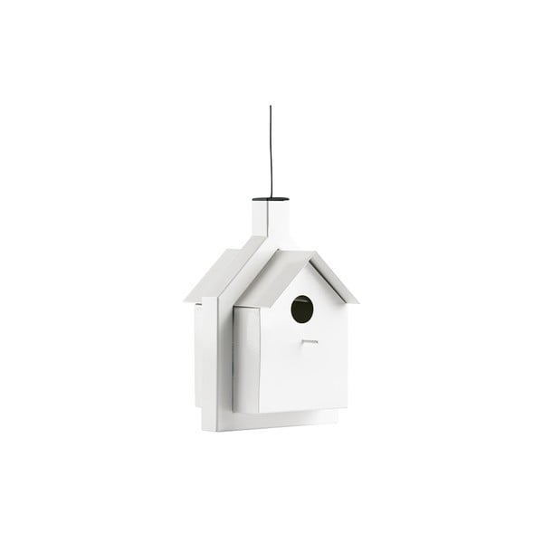 Budka dla ptaków Alicante 24 cm, biała