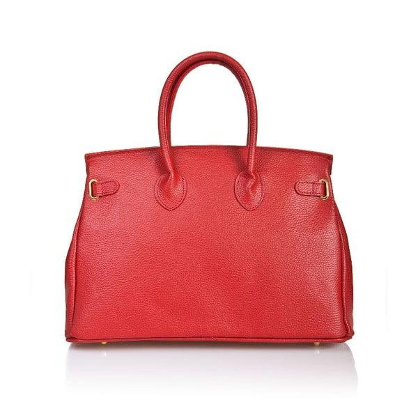 Skórzana torebka Bella Red