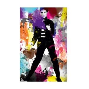 Obraz Król Elvis, 45x70 cm