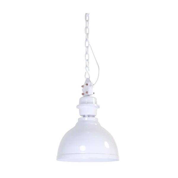 Lampa wisząca Clinton White, 35 cm
