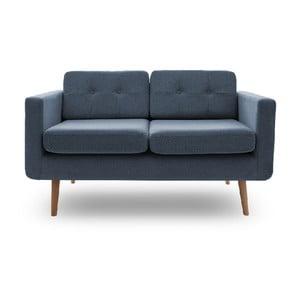 Sofa dwuosobowa VIVONITA Sondero Light Blue, naturalne nogi