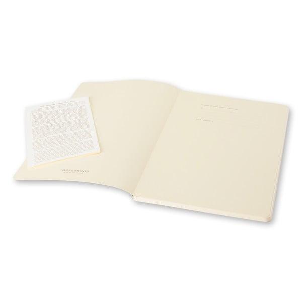 Zestaw 2 różowych notesów Moleskine Volant 9x14 cm, czyste strony