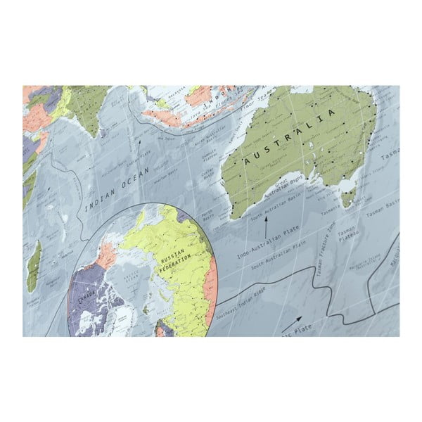 Mapa świata The Future Mapping Company Classic World Map, 130x72 cm