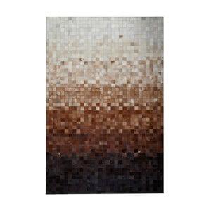 Dywan skórzany Sao Paulo Brown, 120x180 cm