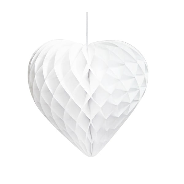 Papierowe dekoracje Honeycomb Hearts, 3 szt.