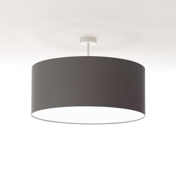 Ciemnoszara lampa wisząca Artist, Ø 60 cm