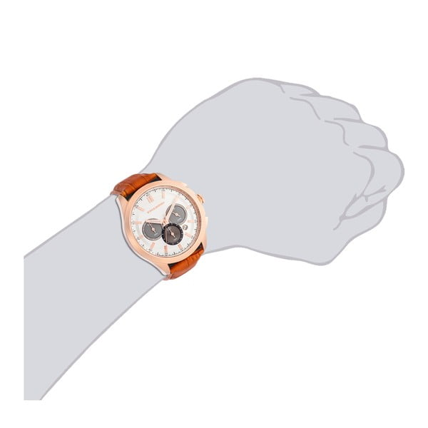 Zegarek męski Bergen Chronograph Brown