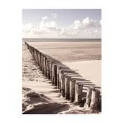 Szklany obraz Way Of Golden Sands 60x80 cm