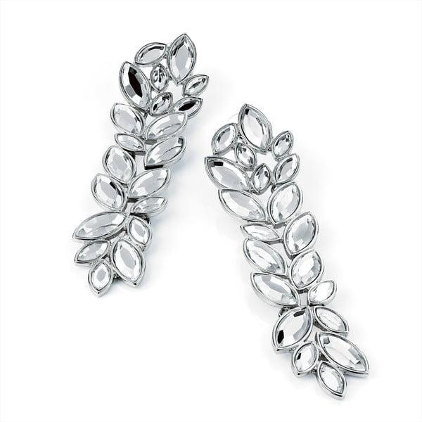 Kolczyki Crystal Lilies